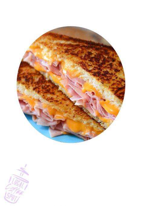 Ham & Cheddar Sandwich